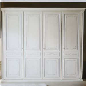 Greece, Hand decorated wooden wardrobe