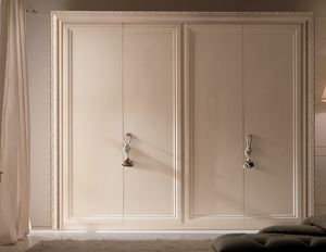 Greta Art. 512, Wardrobe with decorative frame