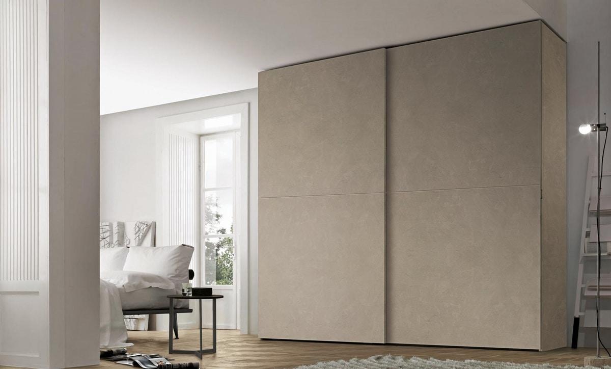 Liscia, Wardrobe with sliding doors