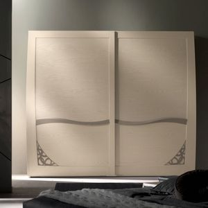 Luna LUNA5102-289, 2 sliding doors wardrobe with fretwork