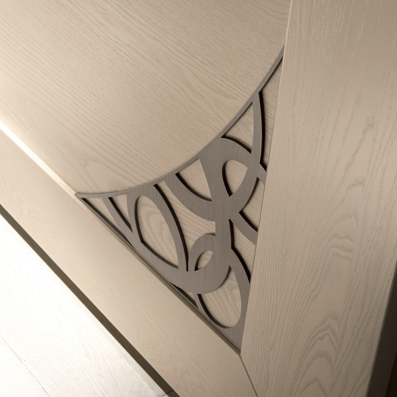 Luna LUNA5102-289, 2 sliding doors wardrobe with fretwork