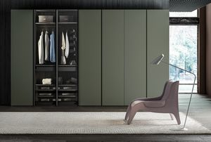 MIX MOLTO/BRIO, Wardrobe with mix of doors