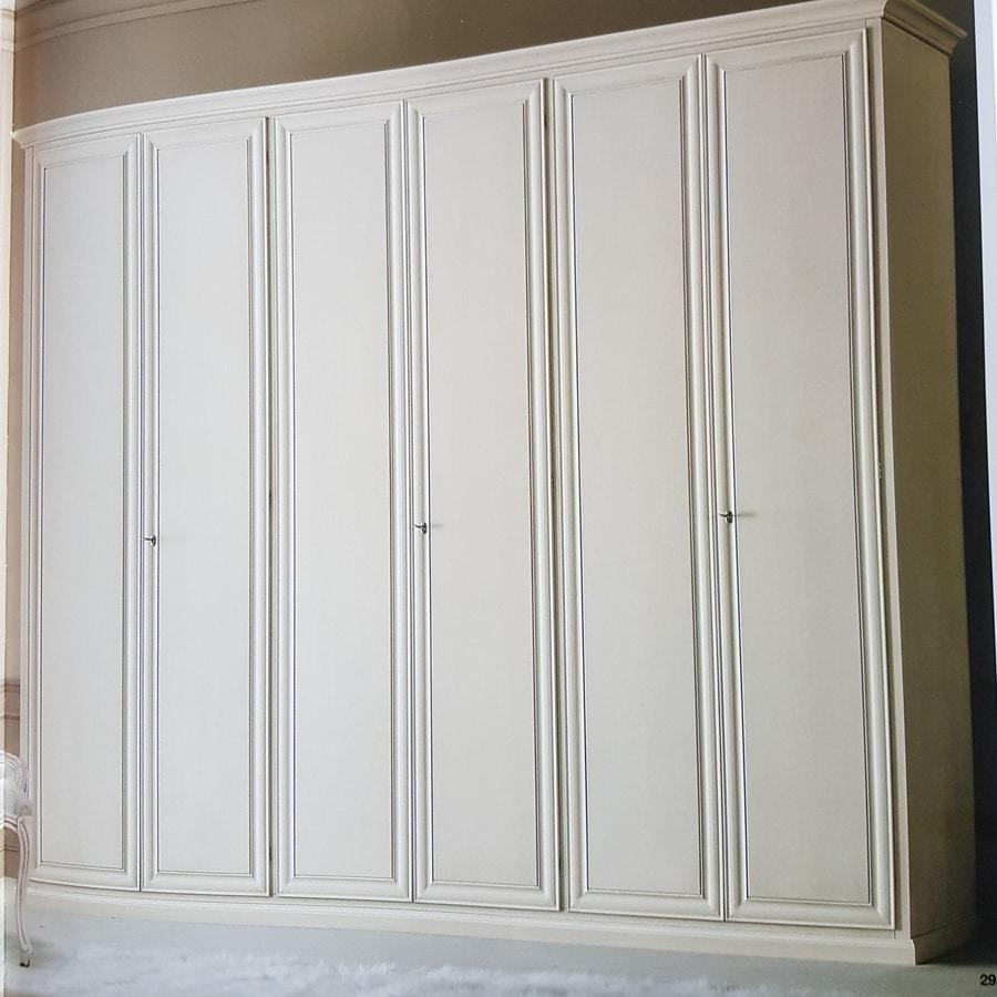 Modigliani, Large wardrobe with six doors