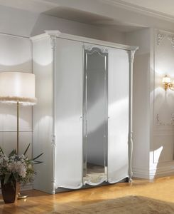 Puccini Art. 7520, Lacquered wardrobe, classic style