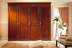 Romantica wardrobe, 4-door wardrobe