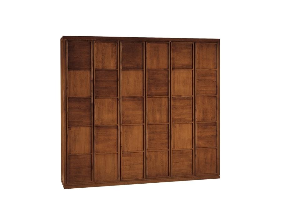 Scacchi 0327, Cherry wood wardrobe