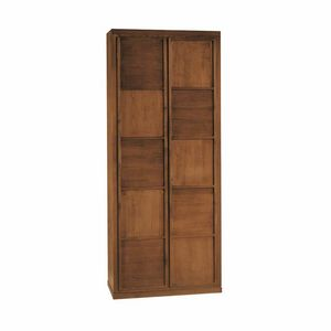 Scacchi 0348, 2-door wooden wardrobe