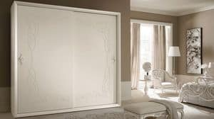 Siena Frame wardrobe, Wardrobe with sliding doors, classic contemporary style
