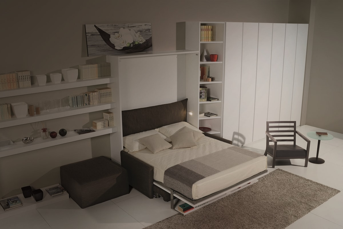 Surf LM440, Space-saving cabinet with hidden bed
