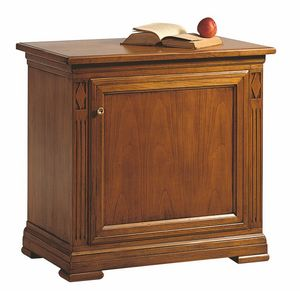 Villa Borghese minibar right, Minibar cabinet for hotel room, with directoire style