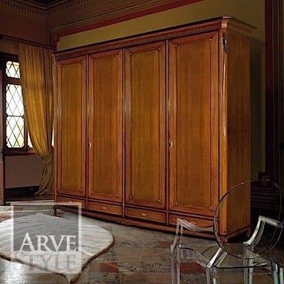 Villa wardrobe, Classic style wardrobe, with drawers