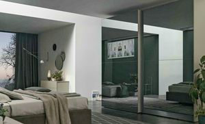 Vision, Sliding wardrobe with mirrored doors