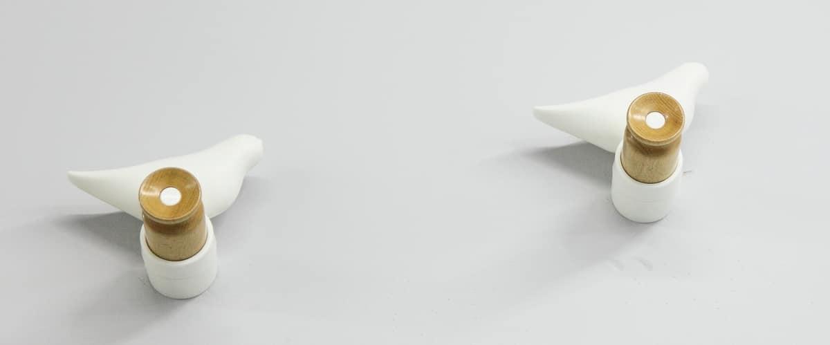 Art. 870 Birdy, Bird-shaped wall hanger, in polypropylene