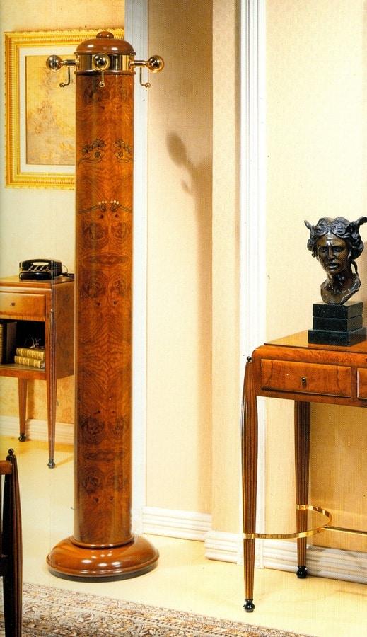 Art Déco Art.556 coat stand, Art Deco style coat stand