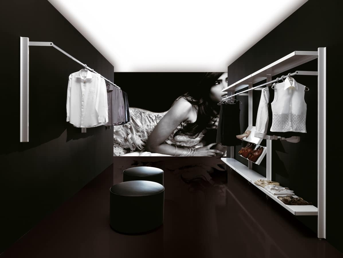 Big shops, Modern Coat for conctract environments