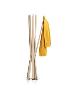 Bloom, Swivel coat stand, with flexible arms