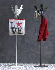 Bouquet coat stand, Modern tulip-shaped floor hanger