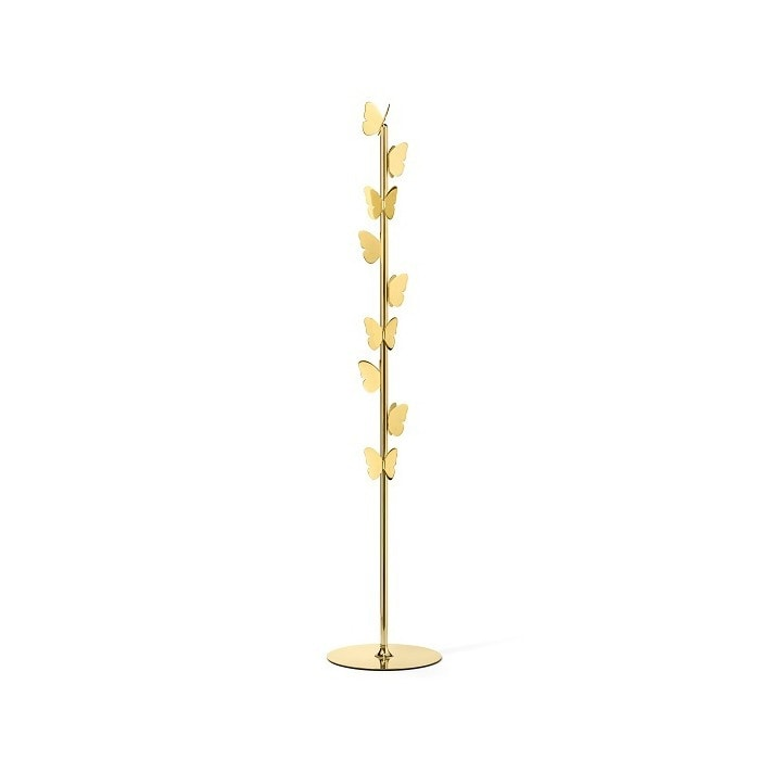 Butterfly, Brass coat stand