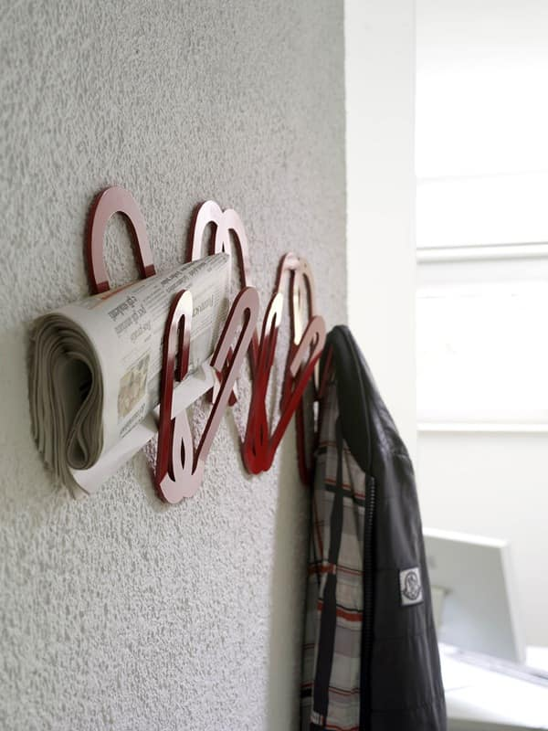 Clips, Metal wall hanger, for Modern office