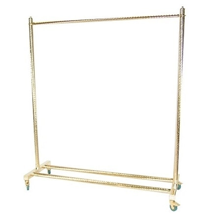 Clothes stand, Clothes hanger on wheels for contract use