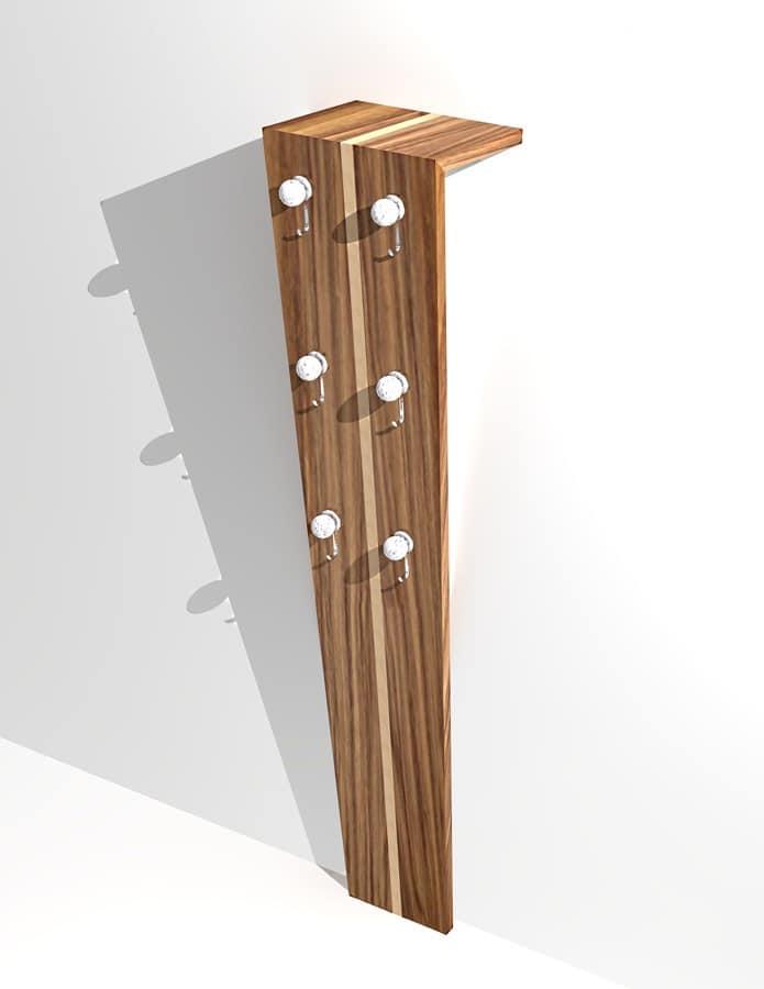 office coat rack. Coat Hanger Art. 802, For Modern Office, Handmade Office Rack T