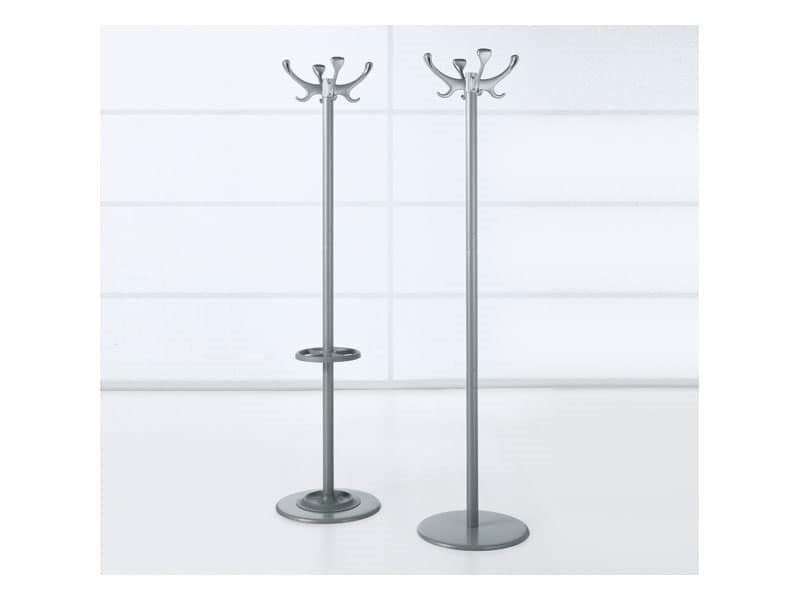 Elk, Coat stand in steel and polycarbonate