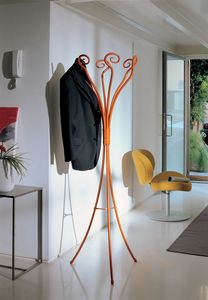 Ella, Rotating coat hanger in iron