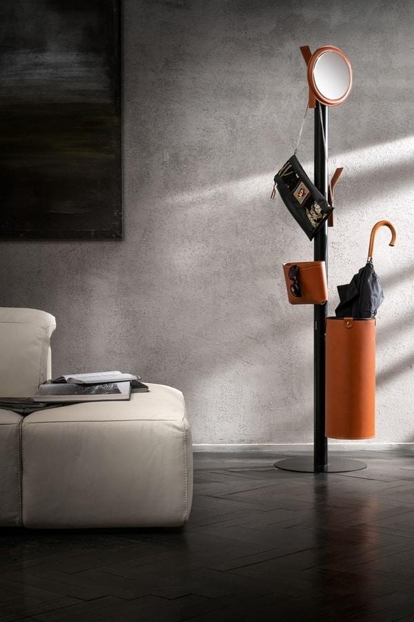Ercole, Modular and customizable coat rack