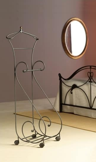 Oasis Valet, Metal valet stand, for classic bedrooms