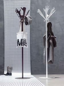People coat stand, Hands-shaped henger, for modern environments