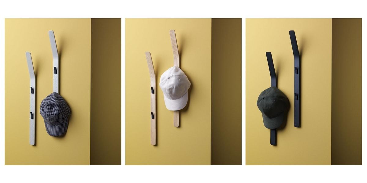 Sledge, Curved wall coat hook