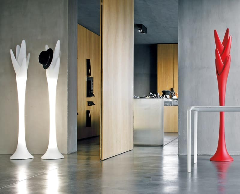 SPIGA, Coat-stand in polyethylene, for entrance furniture