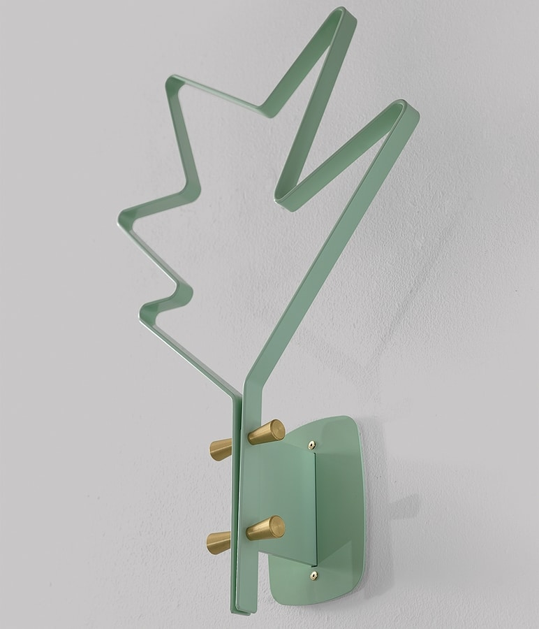 Stella wall, Clothes rack in painted steel