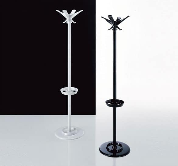 Swing coat stand, Metal coat stand, for offices