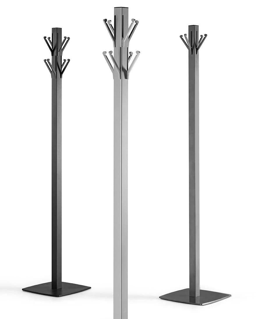 TOTEM 2, Coat stand with opening supports