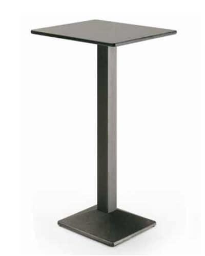 art. 4164-Quadra, High metal table