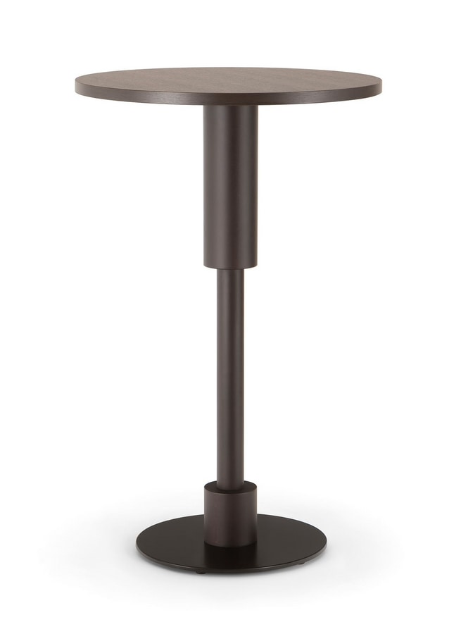 ORLANDO TABLE 081 H110 T, High table for clubs