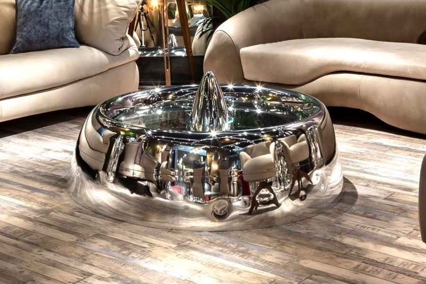 AIR-TAV0073, Coffee table made with airplane parts