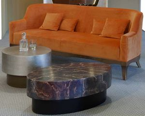 Art. 31718, Oval coffee table for living room