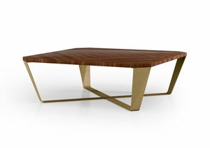 ART. 3450, Coffee table with walnut top