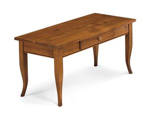 Art. 398, Wooden coffee table, with drawer