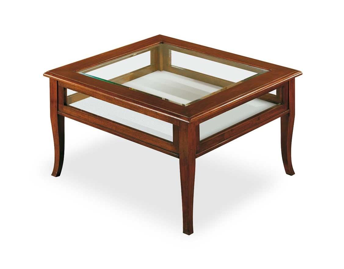 Art. 403, Coffee table with display unit
