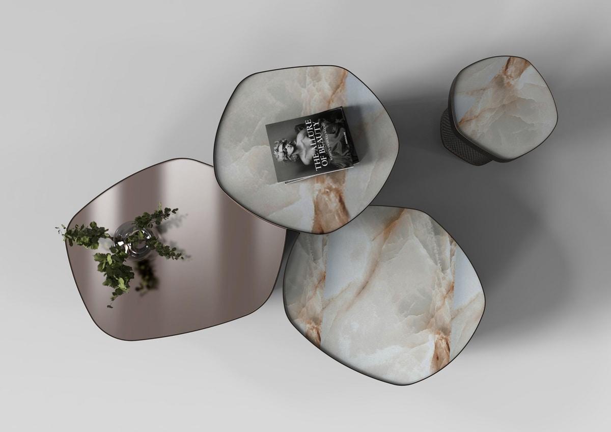 Asparagus, Elegant customizable coffee tables