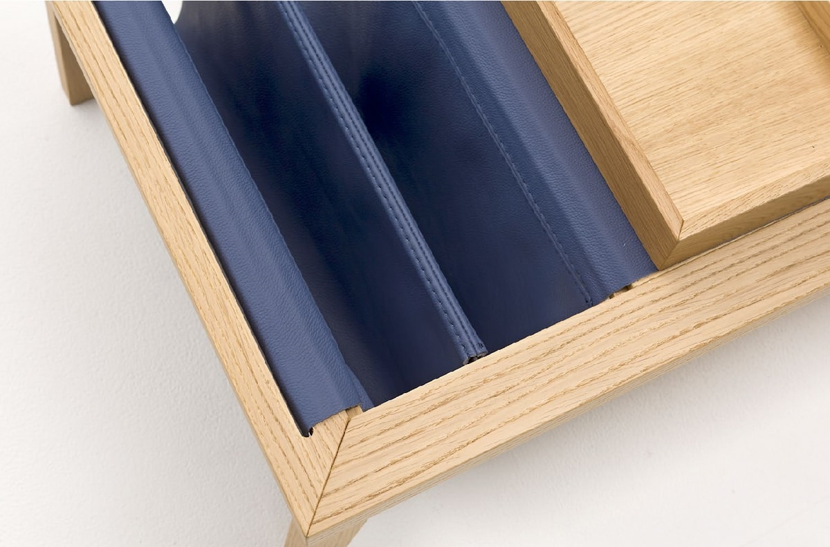 Bergen, Multifunctional wooden coffee table