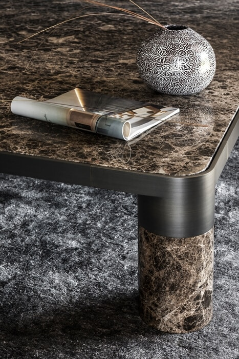 Bold Coffee Table, Coffee table with marble top