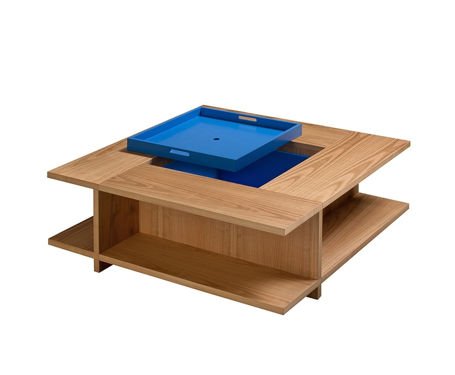 Book 5606, Coffee table with removable tray