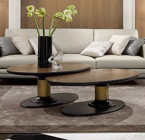 Dilan Art. D17/A - D17/B, Coffee tables with oval top