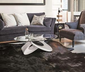 ECLIPSE TL400, Oval coffee table for modern living
