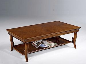Eleonora coffee table, Coffee table with two tops