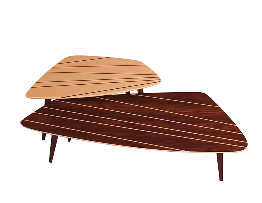 Frank 5615/P, Rosewood coffee table